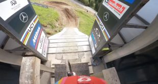 Hop on board with Greg Minnaar for a POV Course Preview of the 2020 UCI Downhill MTB World Championshiptrack in Leogang, Austria.