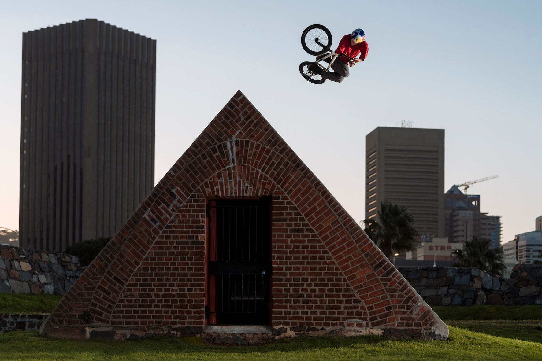 BMX riding with Murray Loubser for his Shapes in the City video project
