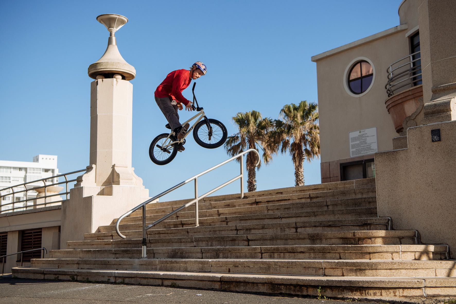 BMX Street riding with Murray Loubser for his Shapes in the City video project