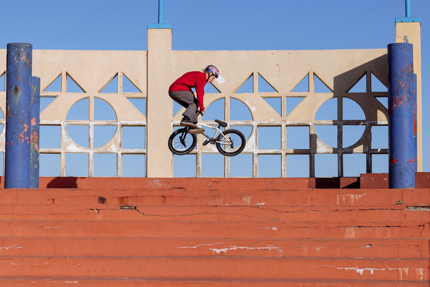 Shapes in the City BMX video project with Murray Loubser