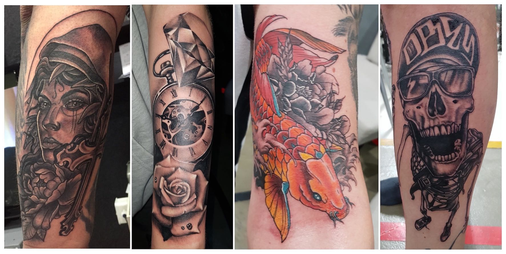 Tattoo work done by Brad Pretorius