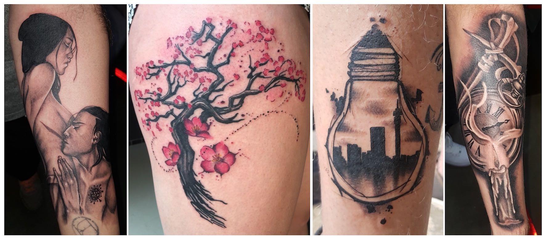 Tattoos done by Brad Pretorius of Royal Ink
