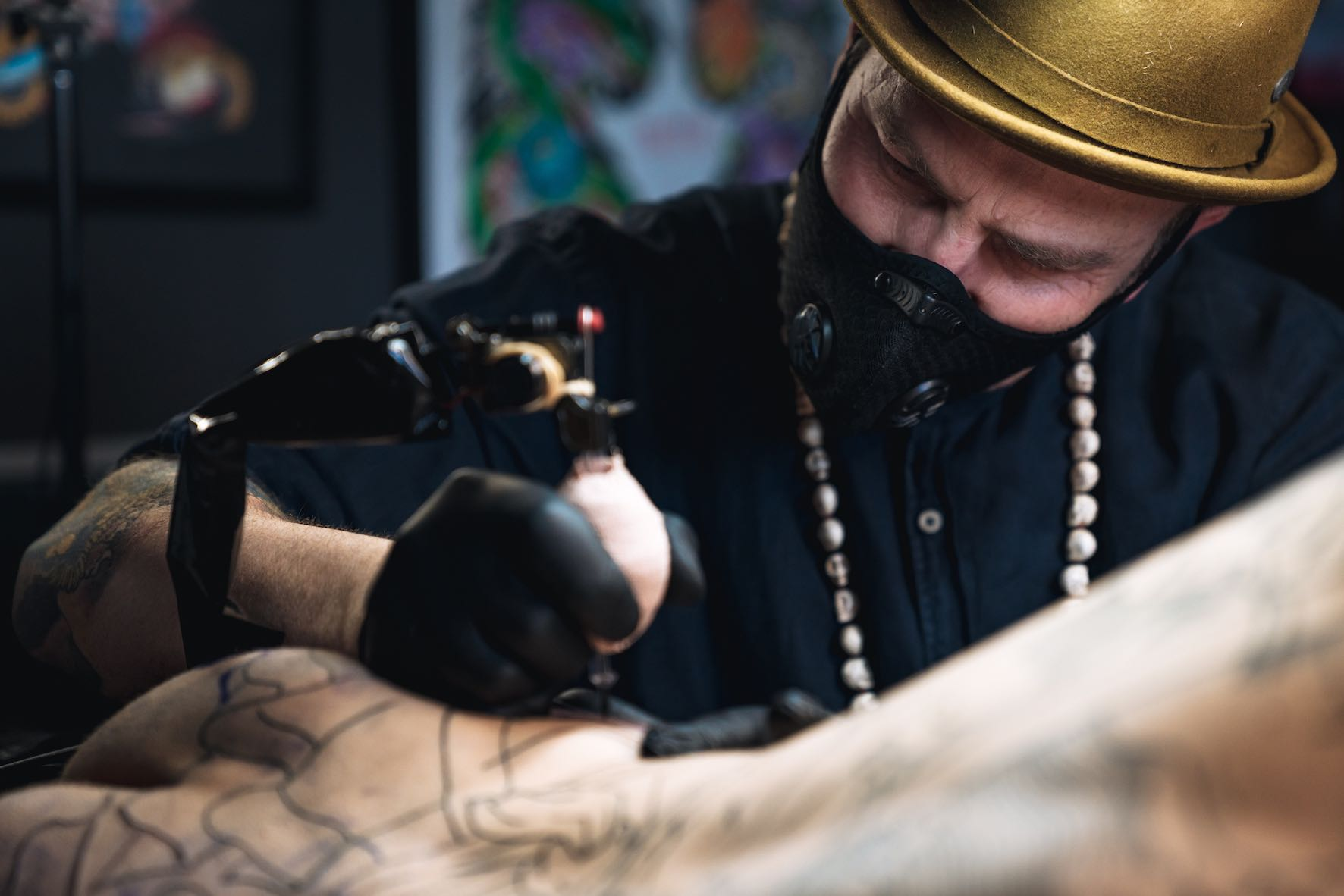 We talks tattoos with Daniel Feinberg