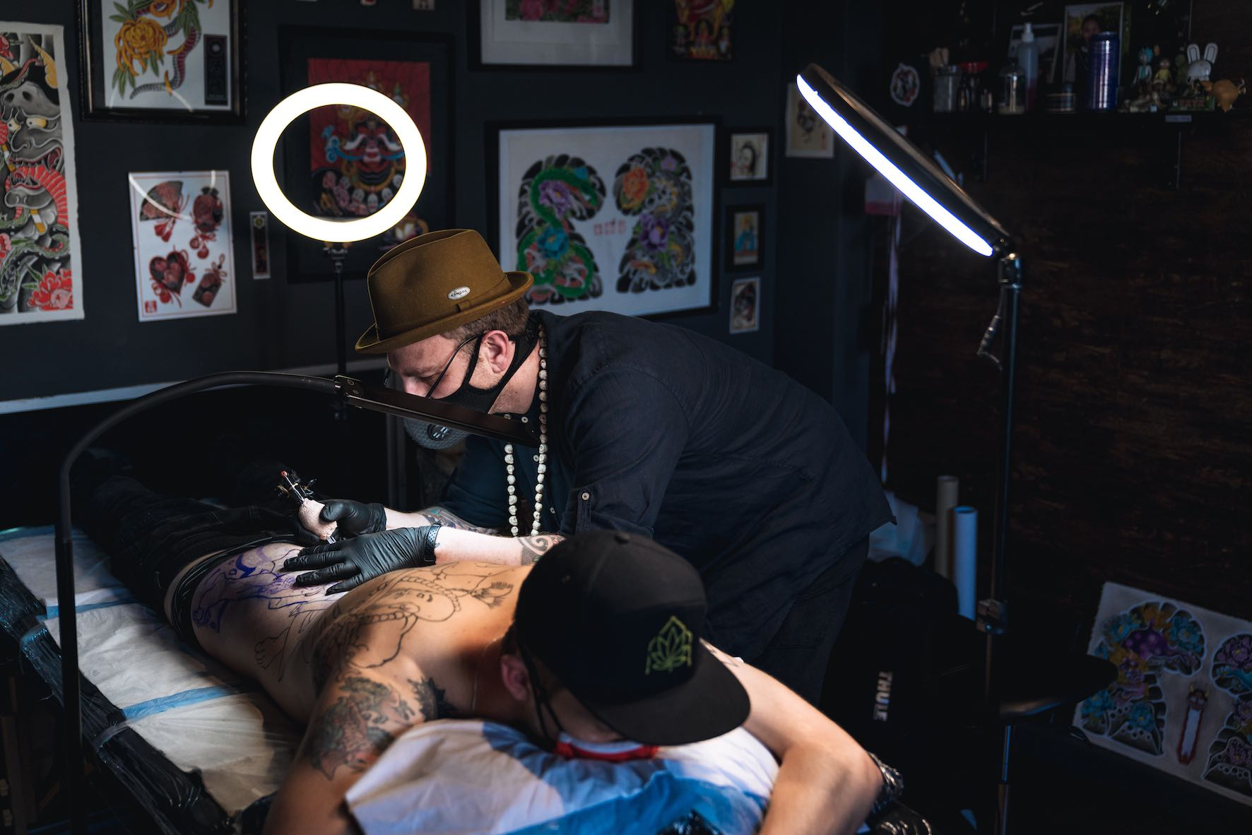 Meet Daniel Feinberg as our featured tattoo artist