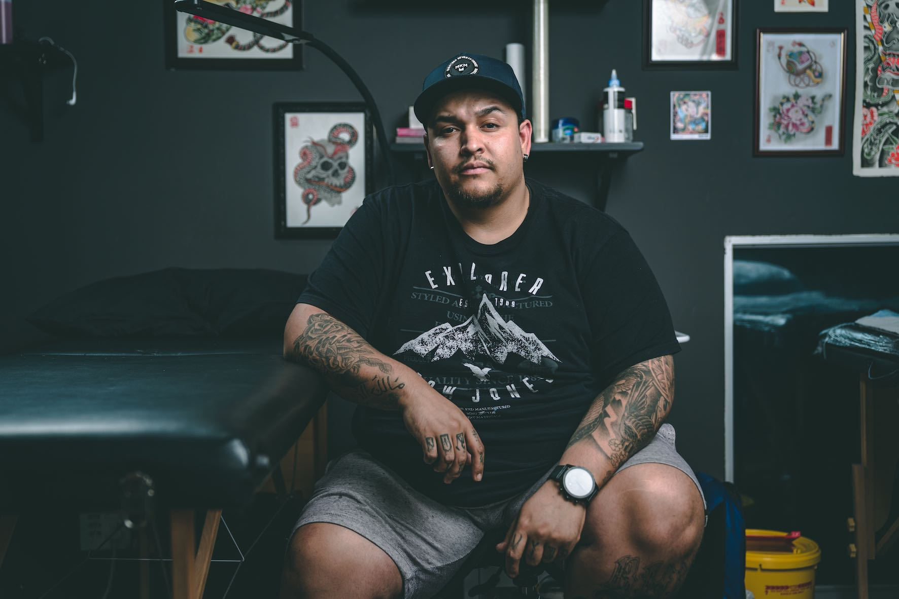 resenting Michael Palmer, aka Big Mike, as our featured Tattoo Artist