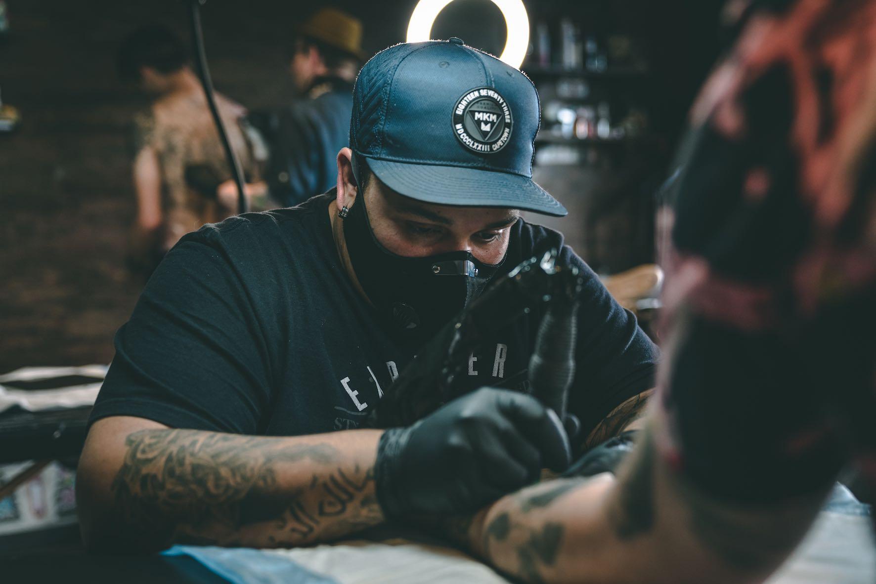 Interview with Tattoo Artist, Michael Palmer