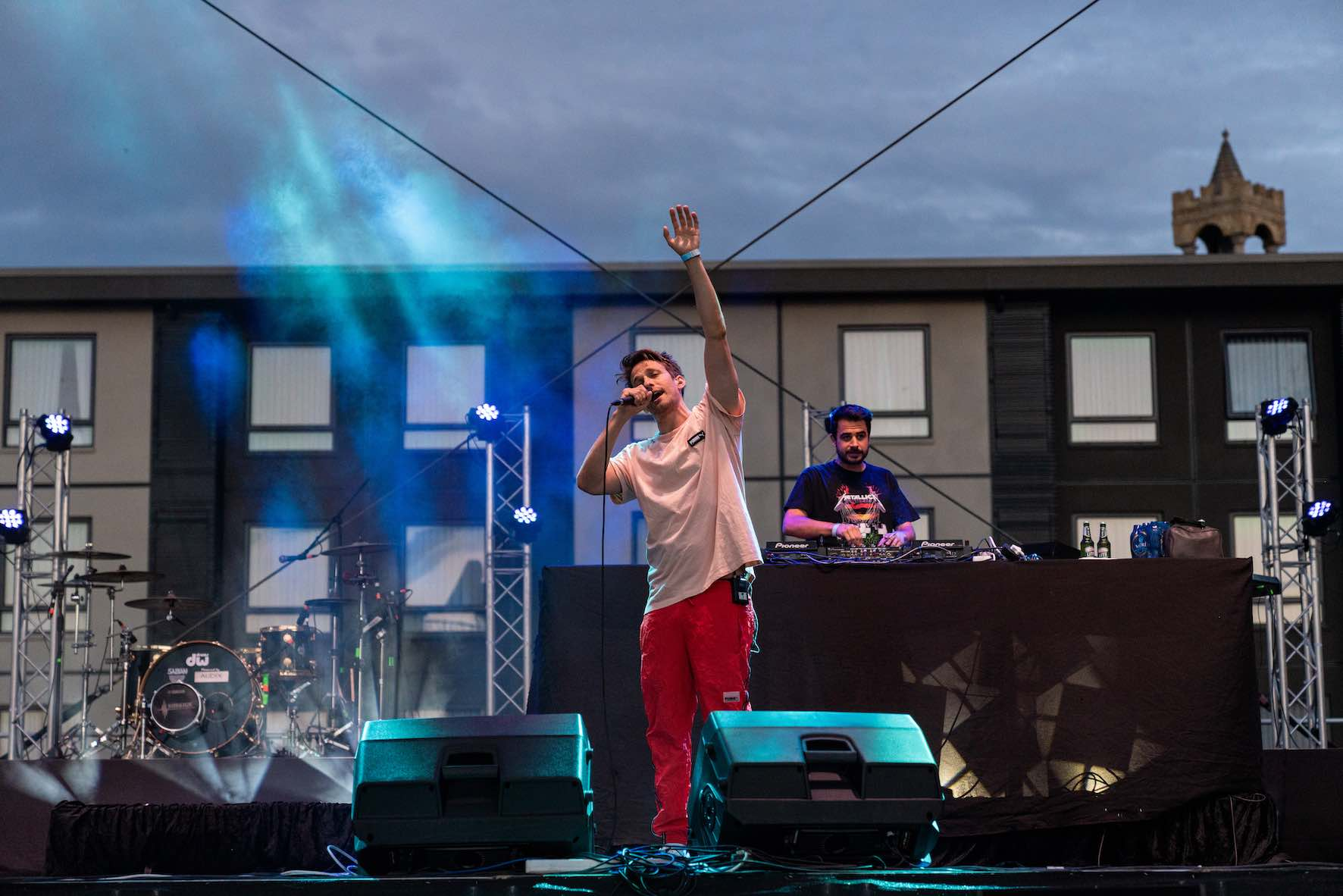 PHFat performing at A New Day Out Pod Party