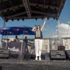 GoodLuck performing at A New Day Out Pod Party