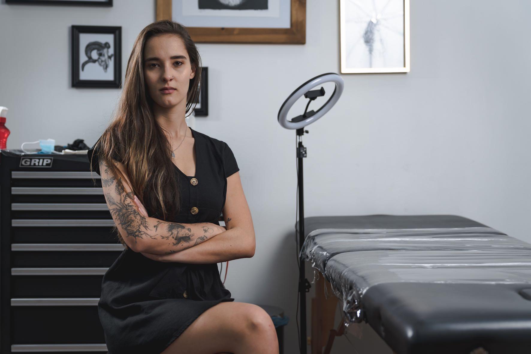 Meet Alyssa van der Merwe as our featured Tattoo Artist of the Week