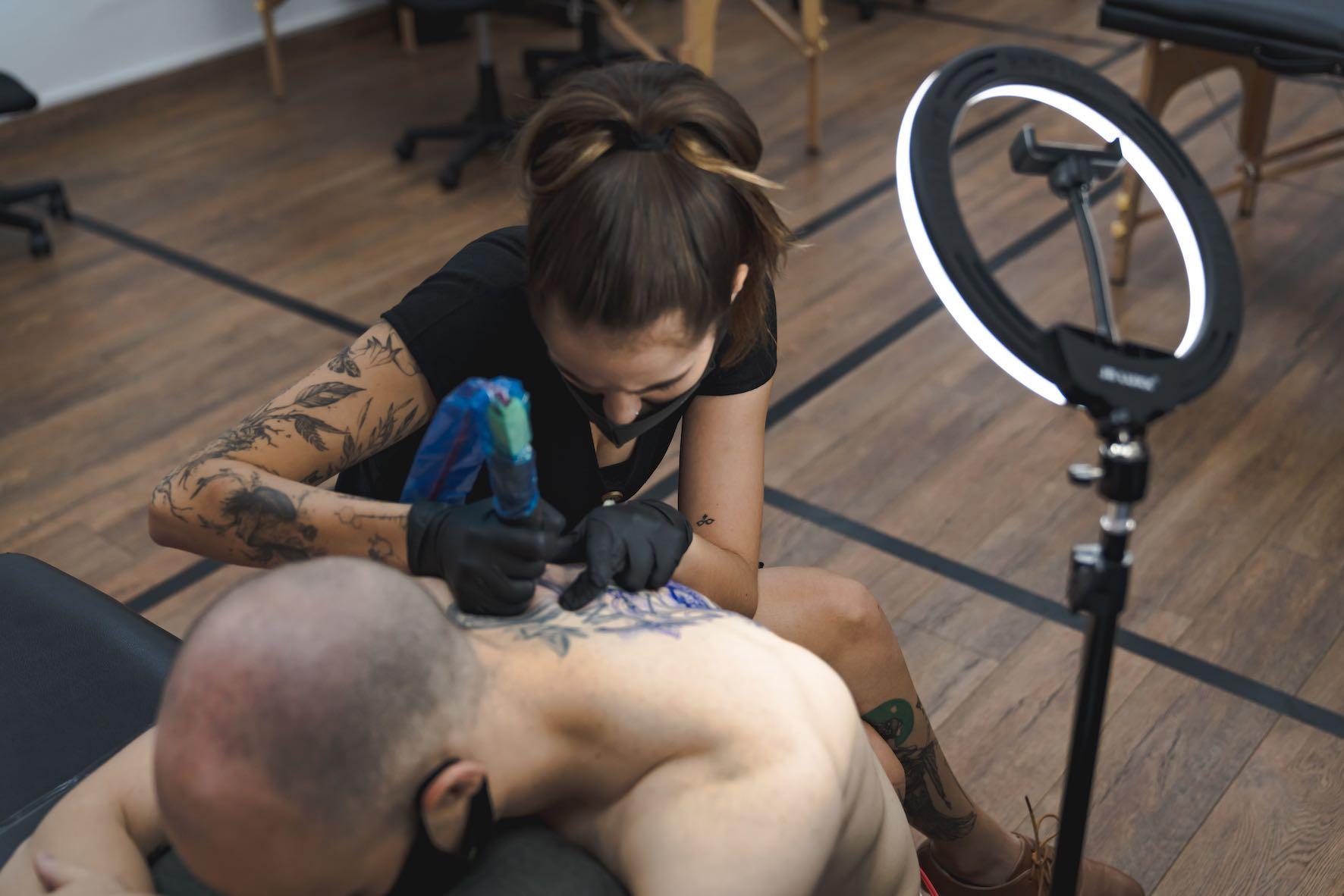 Introducing tattoo artist Alyssa van der Merwe