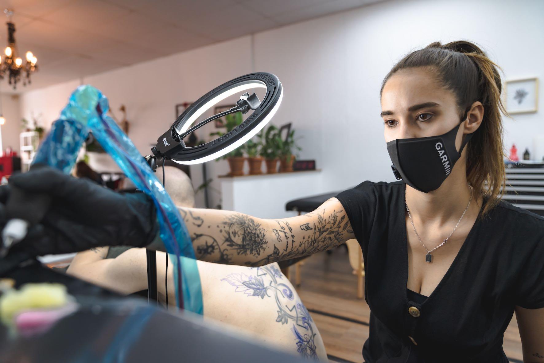 We talk tattoos and more with Alyssa van der Merwe