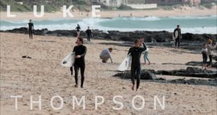 One week in JBay with 16 year old surfer, Luke Thompson...