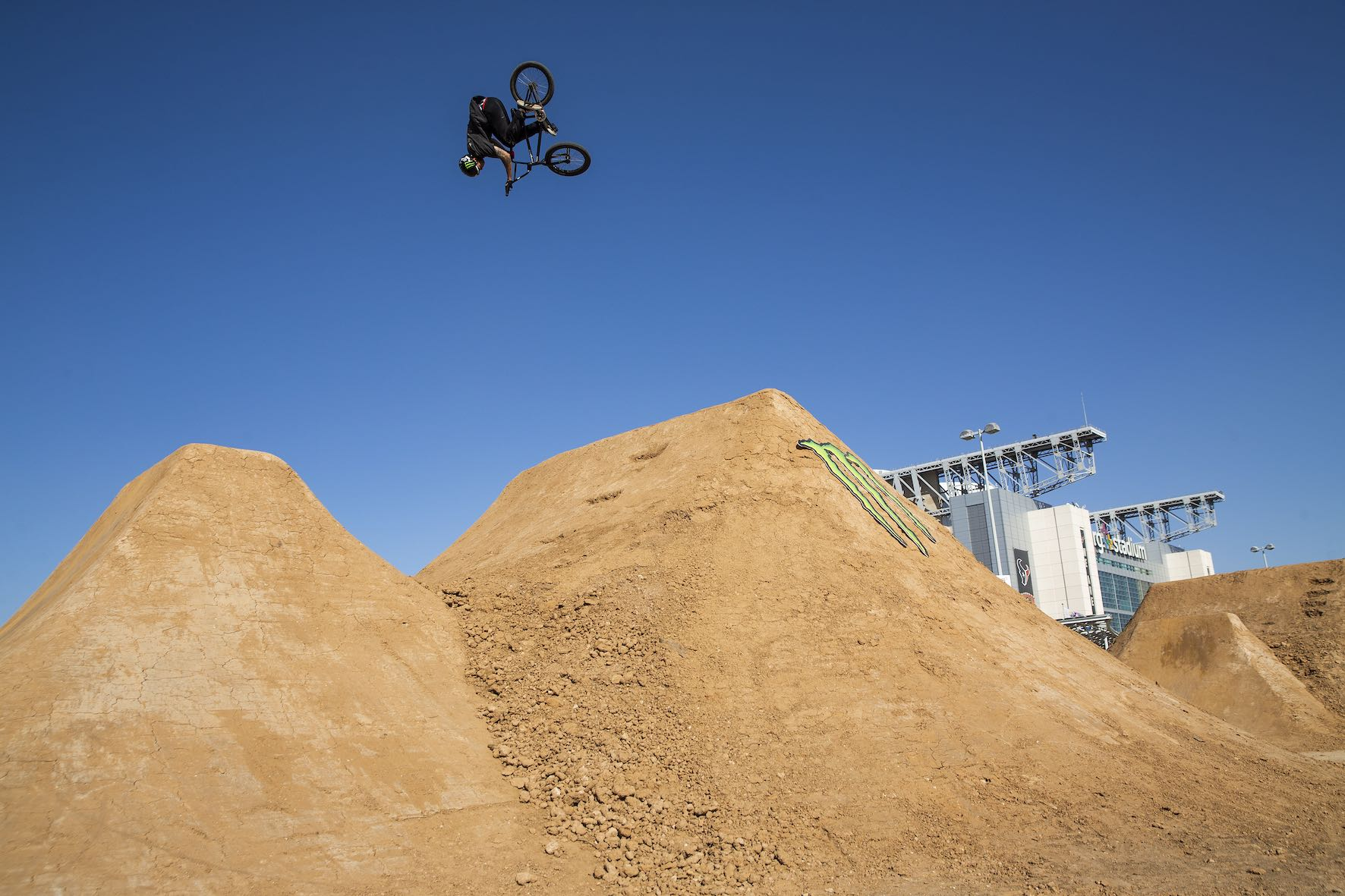 Pat Casey riding in the Monster Energy BMX Triple Challenge