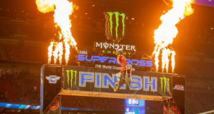 Take a look atthe 250 and 450 Main Event highlights from Round 1 of the 2021Monster Energy Supercross from Houston.