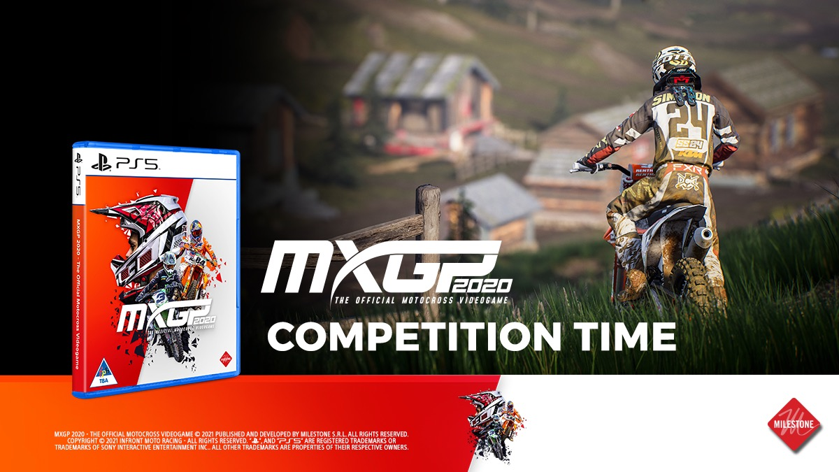 Here's your chance to discover what it means to be an MXGP Champion. Stand a chance of winning the MXGP2020 vidoegame.