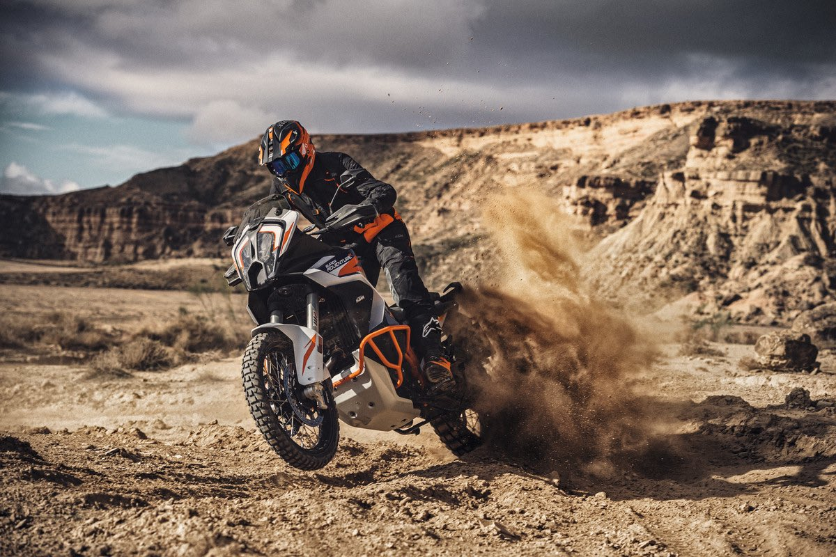 The all-new KTM 1290 SUPER ADVENTURE R allows for limitless travel possibilities even where the road ends.