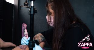 Introducing Adrianne Black as our featured Tattoo Artist. Currenty working out of Beneath The Surface, we get to know a bit more about her career and style of work.