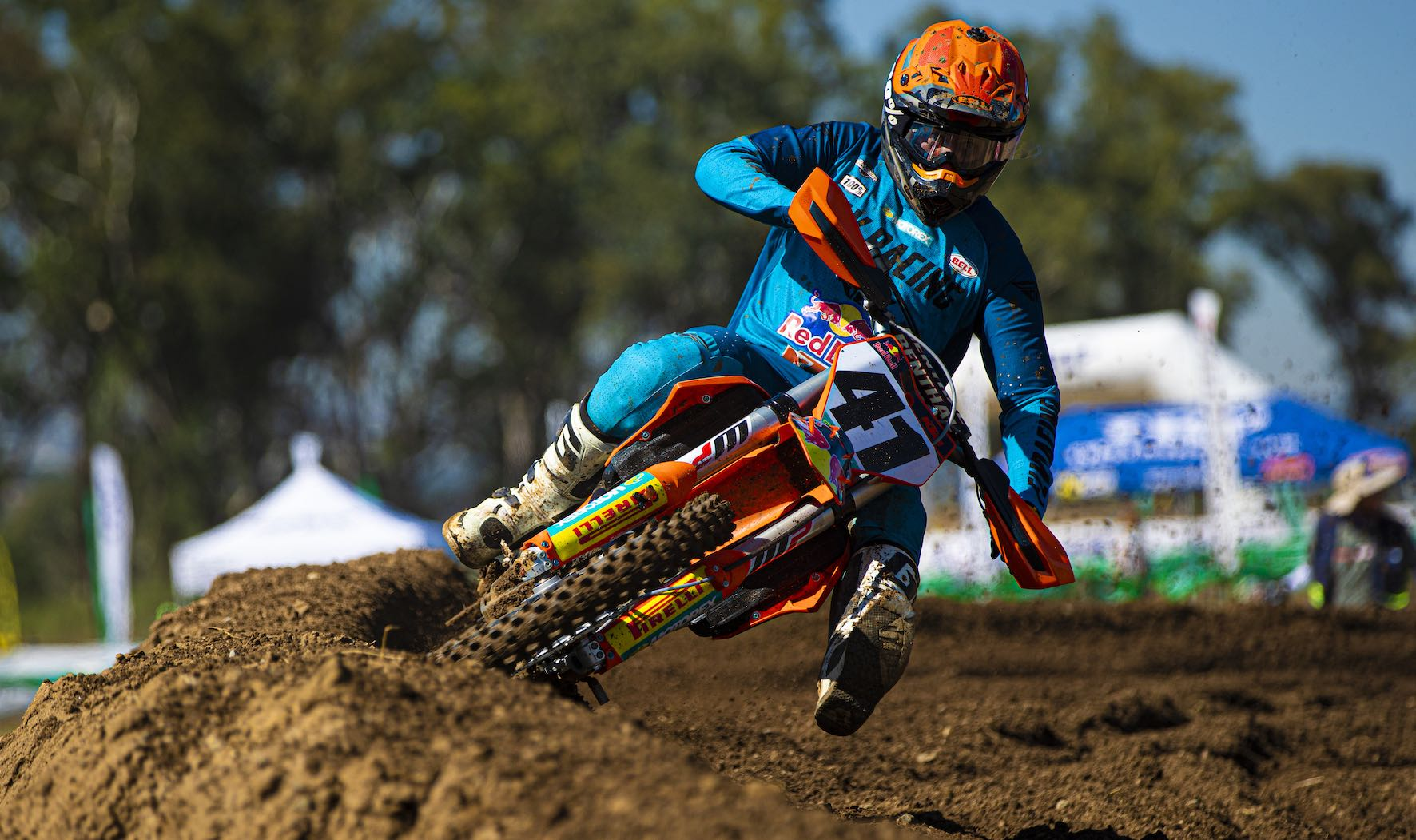 Tristan Purdon wins round 1 of the 2021 SA Motocross Nationals