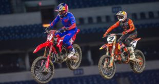 Take a look at the 250 and 450 Main Event highlights from Round 6 of the 2021 Monster Energy Supercross from Indianapolis.