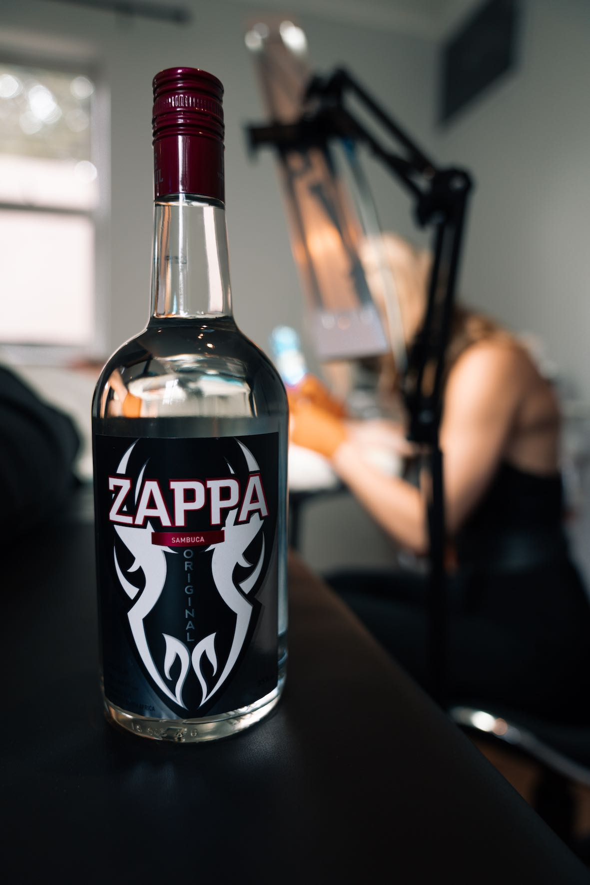 Tattoo artist features brought to you by Zappa Sambuca