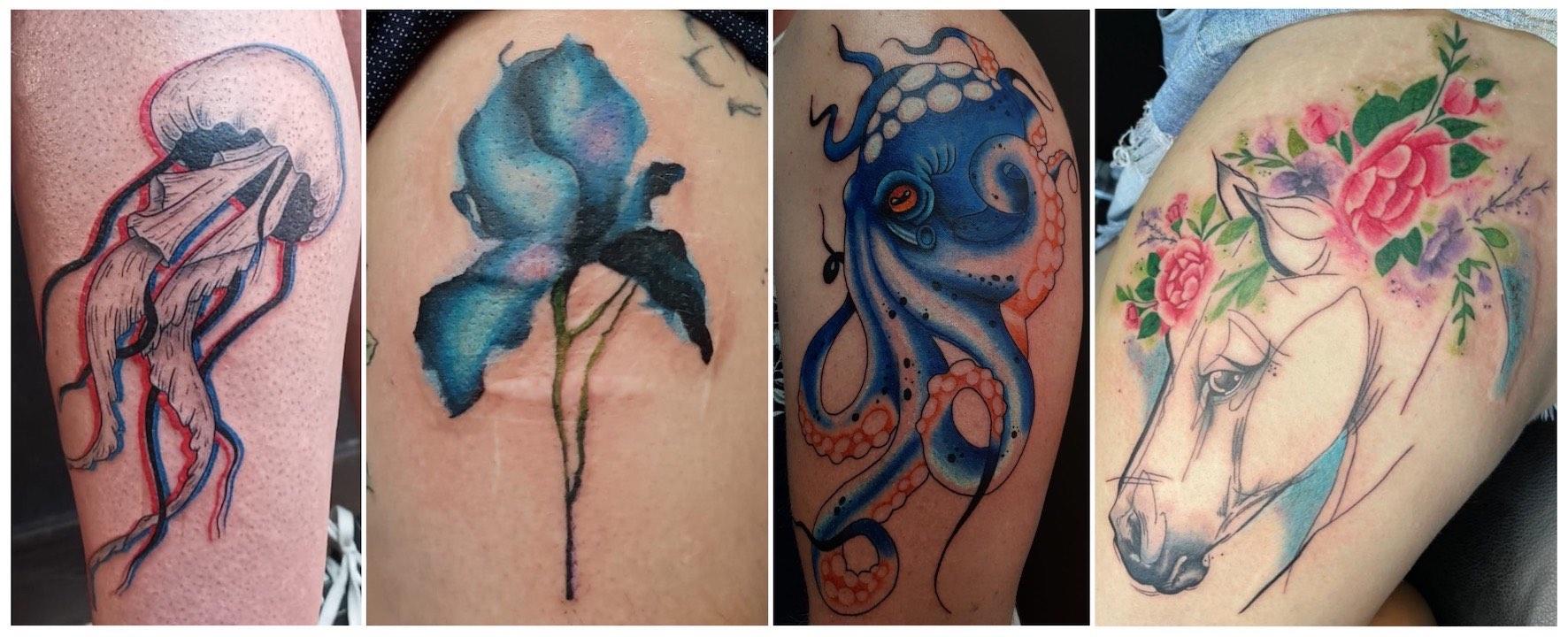 Tattoos done by Adrianne Black