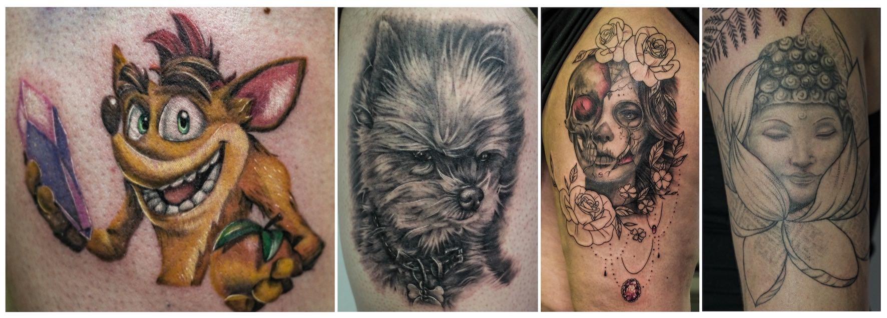 Tattoos done by Sarah Jardim of Autumn Tattoo Studio