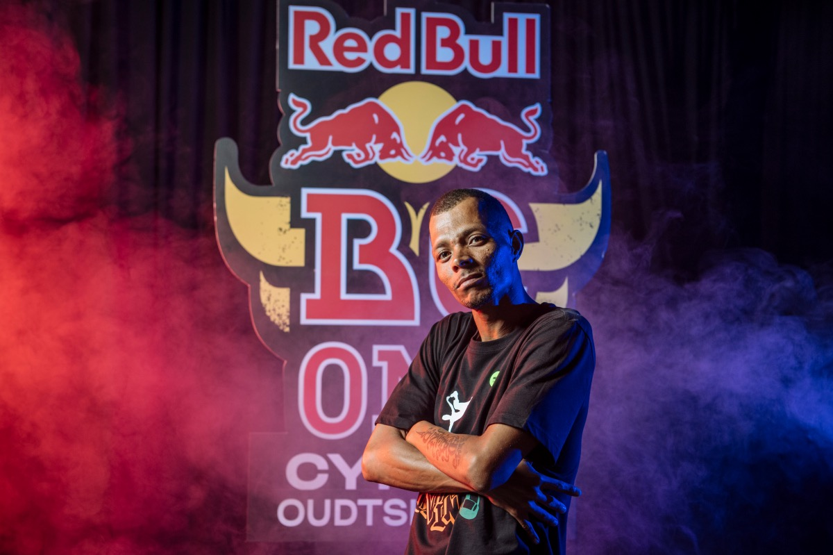 B-Boy Da Vinci wins at the 2021 Red Bull BC One Cypher in Oudtshoorn