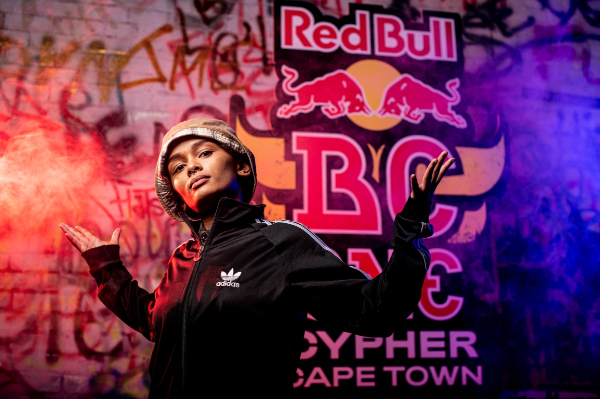 B-girl CJ wins at the 2021 Red Bull BC One Cypher in Cape Town