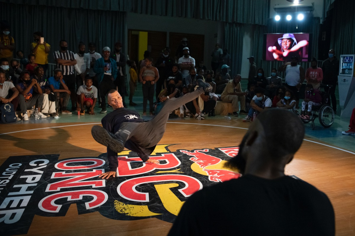 2021 Red Bull BC One Cypher breakdancing competition in Oudtshoorn