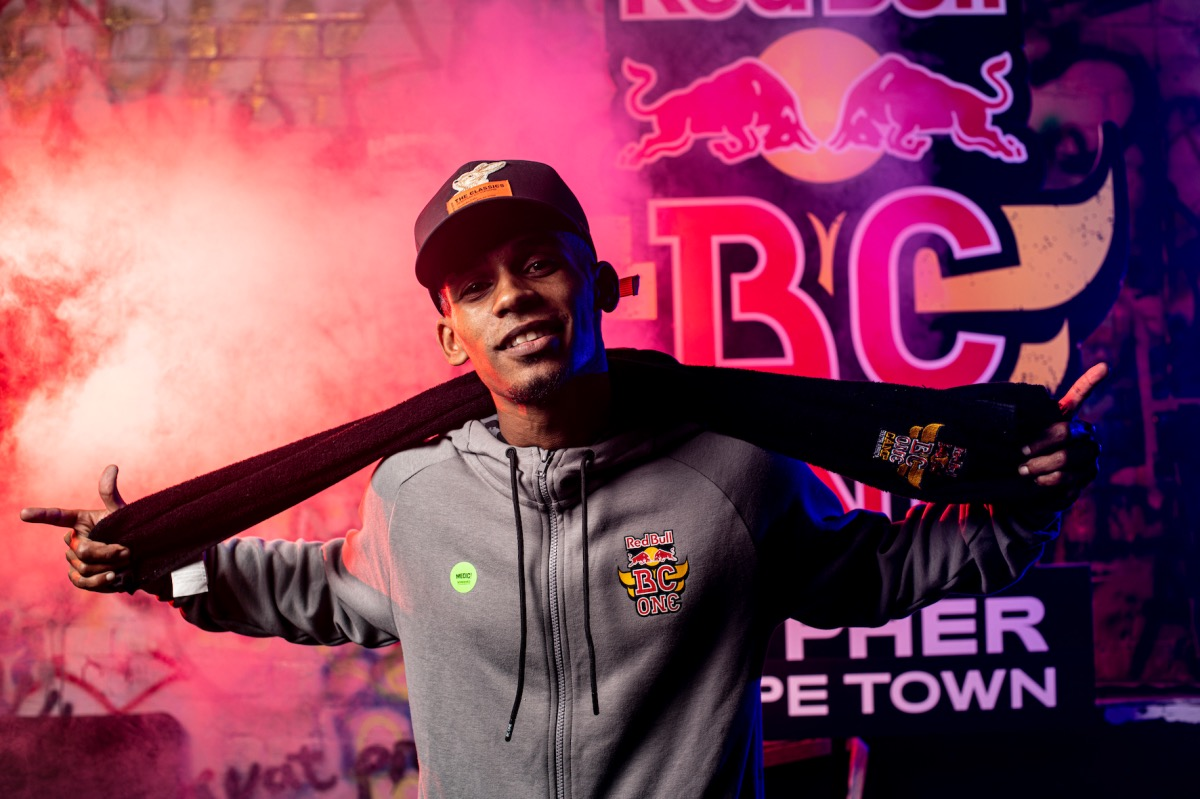 B-boy Toufeeq wins at the 2021 Red Bull BC One Cypher in Cape Town