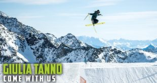 PresentingMonster Energy's Come With Ussix part video series. Episode 2: The pool of incredible talent in women's Slopestyle skiing has been getting stronger every season andpart of that new wave is Giulia Tanno.