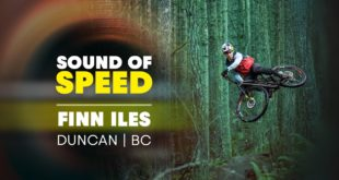 Enjoy the raw sounds of a perfectly dialled mountain bike slashing through wet trails sticky berms, slippery roots and muddy puddles. A true raw classic - Finn Iles in the Sound of Speed.