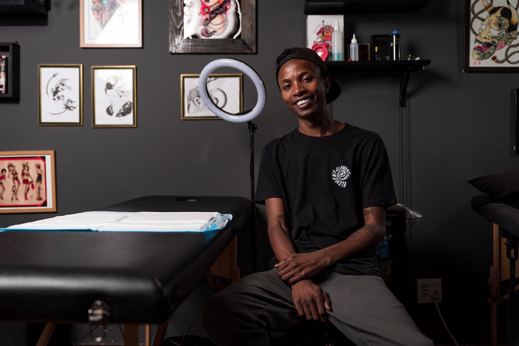 Meet Katleho Mokoena as our featured Tattoo Artist of the Week