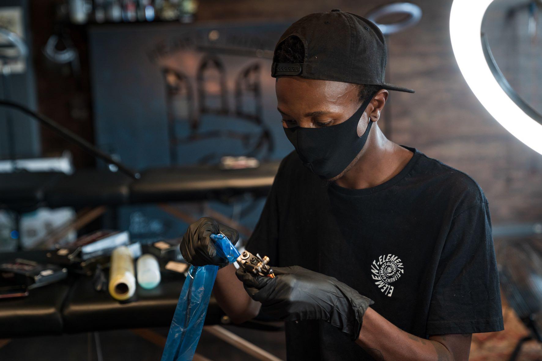We talk tattoos with Tattoo Artist Katz Mokoena