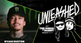 Monster Energy is proud to announce the launch of Unleashed with The Dingo and Danny Podcast. Filmed on a special set inside Studio M at Monster Energy headquarters, the podcast premiereswith the first episode, featuring pro skateboarderNyjah Huston.