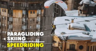 Valentin Delluc pushes the limits combining Freestyle and Speedriding in the deserted French Alps resort, Avoriaz, basically turning it into a personal Slopestyle playground. Pulling off some insane never-before-seen tricks, this is one video you don't want to miss.