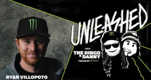 Monster Energy presents Unleashed with The Dingo and Danny Podcast. Filmed on a special set inside Studio M at Monster Energy headquarters, the podcast's second episode, features Motocross legend Ryan Villopoto.