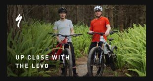 Join Matt Lombardi and Kylie Hanekom as they give you an up close and in-depth look at the all new Specialized Turbo Levo e-bike.