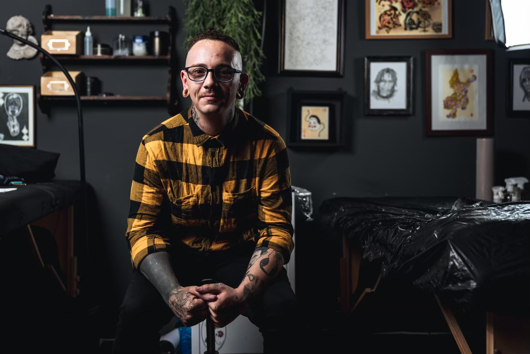 Meet Peter Savage as our featured Tattoo Artist