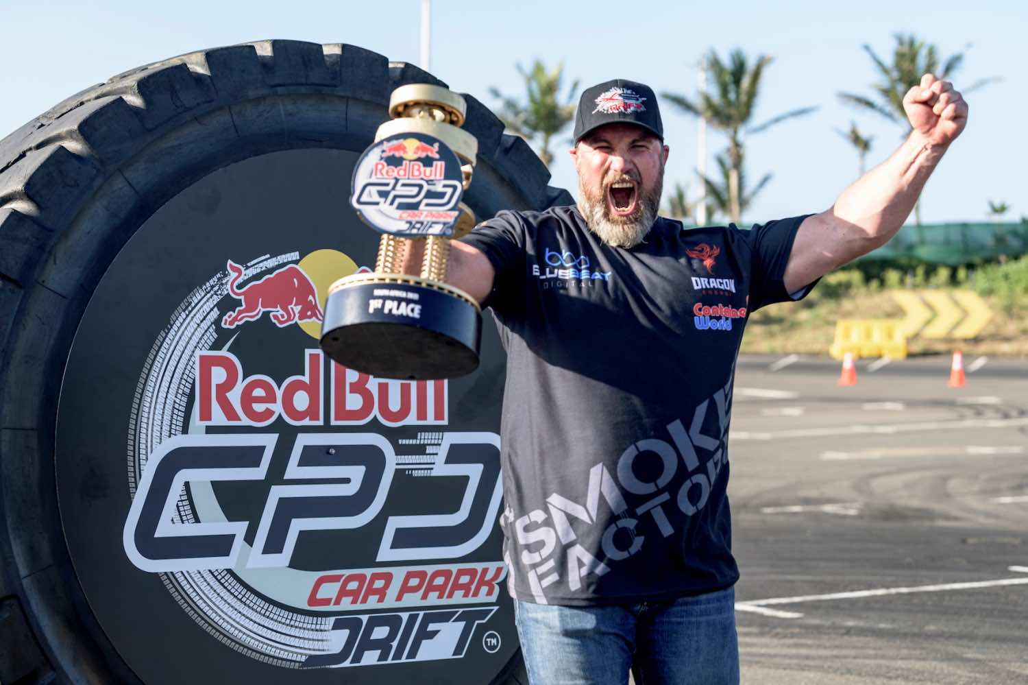 Jim Mc Farlane will now make his way to the Red Bull Car Park Drift World Final