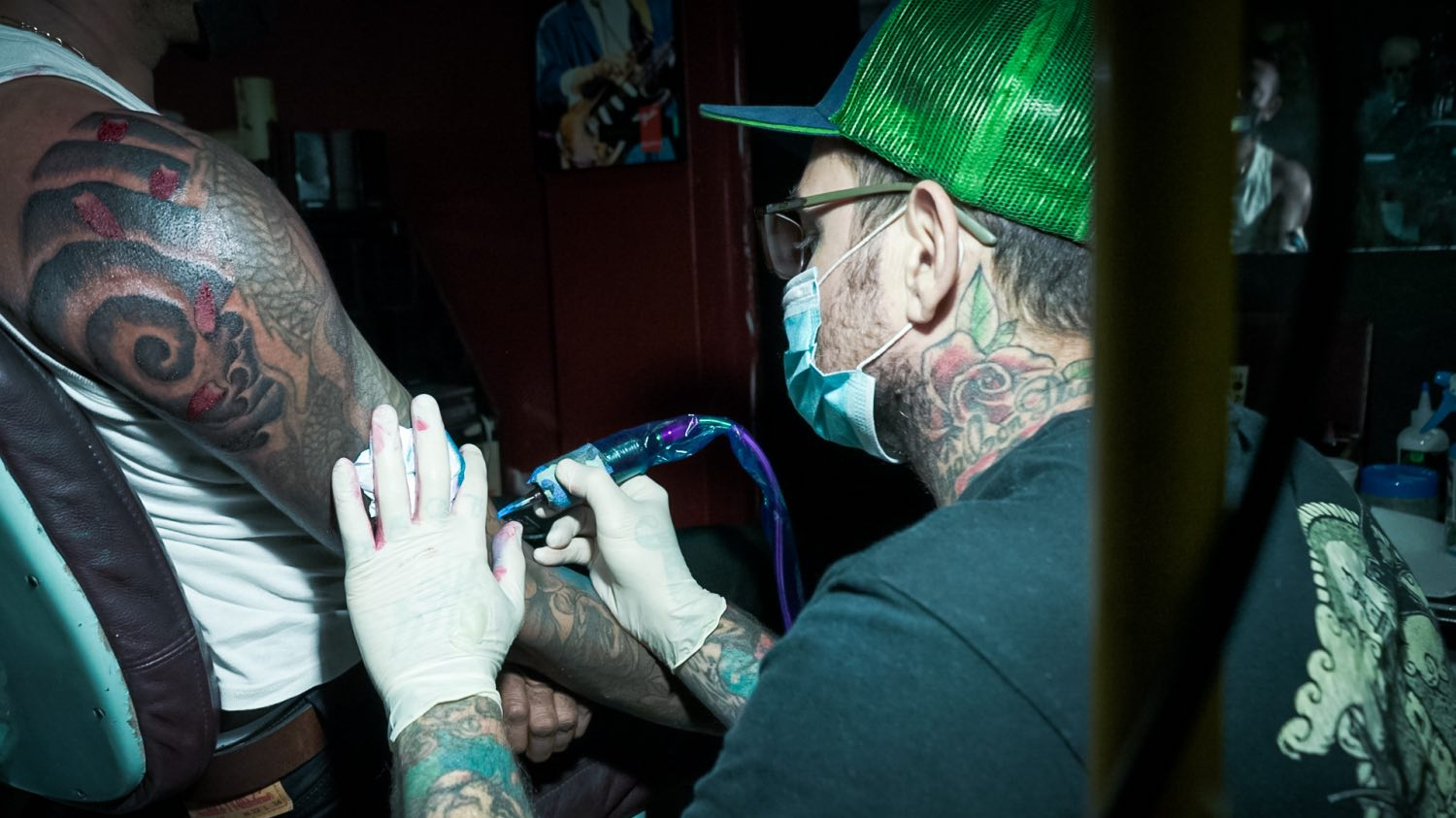 We talks tattoos and more with Jake de Gaye