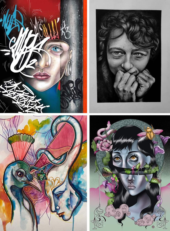 Artwork done by Tarryn Faye Brummage
