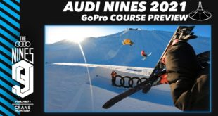 The 2021 Audi Nines is officially underway with a team of the world's best snowboarders and Skiers are sizing up the limitless potential of this year's incredible Snowpark. Drop into the GoPro Course Preview for an exclusive first look at a playground.