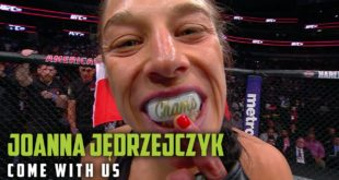 PresentingMonster Energy's Come With Ussix part video series. Episode 5 with Joanna Jedrzejczyk - Youdon'tgetto be asix timeMuay Thai world champion, and a leading MMA fighter in the UFC without being truly and undeniably hardcore.
