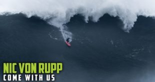 PresentingMonster Energy's Come With Ussix part video series. Episode 3: Welcome to Nic Von Rupp's world. The 30-year-old surfing prodigy has already nailed a successful competitive career, and has now changed direction to focus his sights on becoming the best big wave rider in the world.