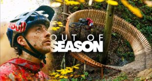 Switching things up, Kriss Kyle drops his BMX for his Enduro MTB rig and heads to Wales to create this epic Out of Season video at theRevolution Bike Park.