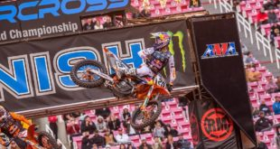 Take a look at the 250 and 450 Main Event highlights from Round 16 of the 2021 Monster Energy Supercross from Salt Lake City.
