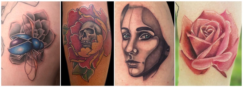Realism tattoos done by Tarryn Faye Brummage
