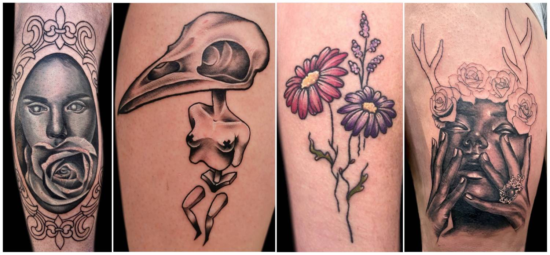 Tattoos work done by Tarryn Faye Brummage