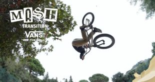Shoutout to the Vans BMX squad, having their team projects cancelled due to covid, kept active and did their part as soon as they were allowed to go out and be safe again. Keeping it local with their homies pressing the red button, created this heavy mixtape - Mash Transition